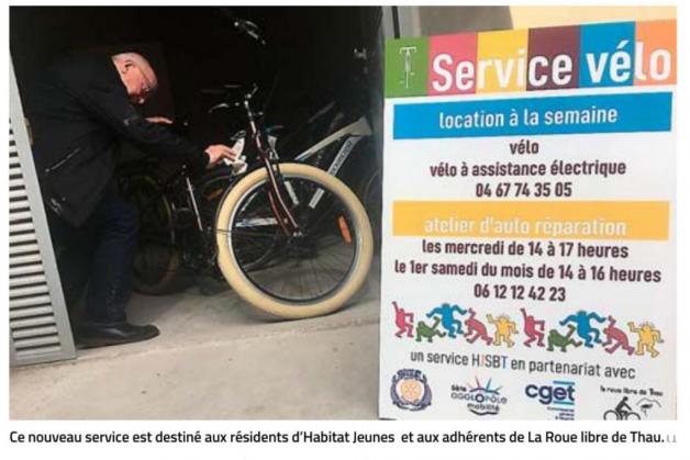 «Midi Libre» annonce la création du service vélo d'HJSBT
